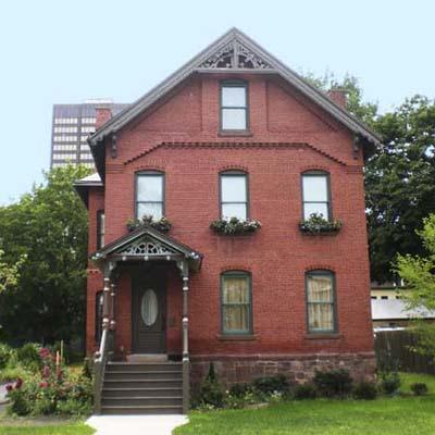 neighborhood of Asylum Hill, Hartford, Connecticut