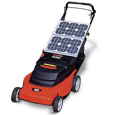 Solar-Powered Mower