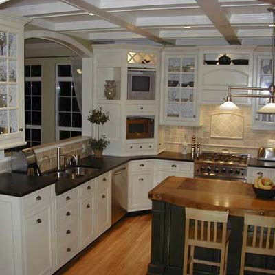 Hand-crafted kitchen remodel before