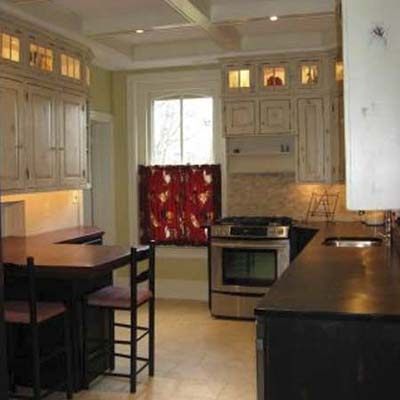 kitchen remodel in victorian