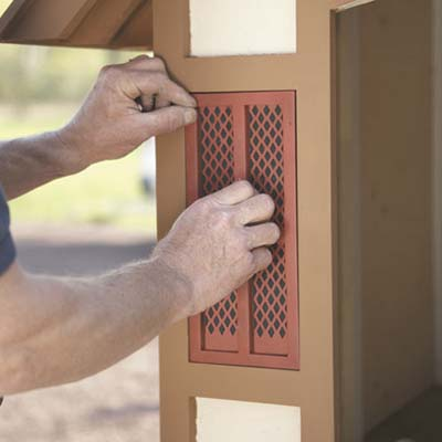tudor doghouse shutters