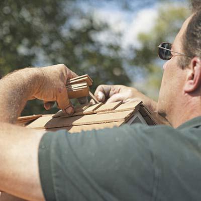 craftsman doghouse roofing details