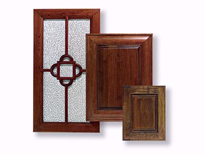 Trio of cabinet doors Rutt