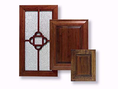 Trio of cabinet doors Rutt