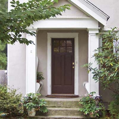 front entry before transformation with easy upgrades