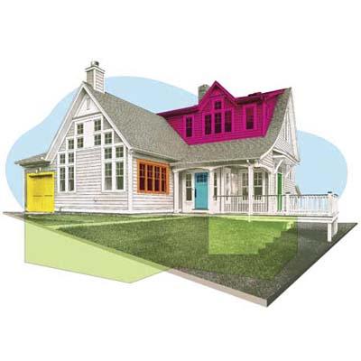 where break-ins happen in your home