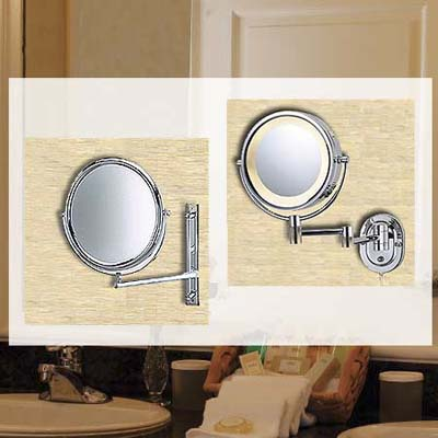 vanity mirrors in bathroom