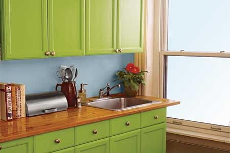 best paint for spraying cabinets 2