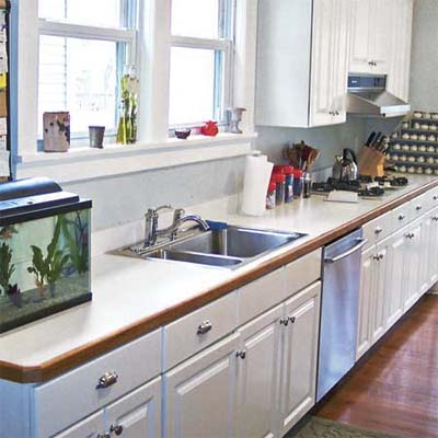 Countertop Upgrades : ... Counter Swap: Before Kitchen-Counter Upgrade This Old House
