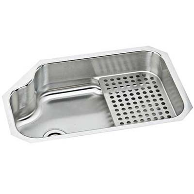 stainless steel sink with removable drying shelf