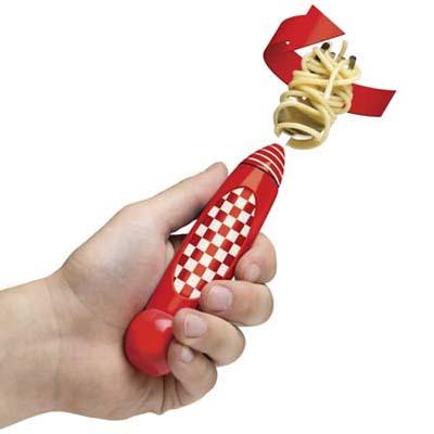 Self-Twirling Spaghetti Fork