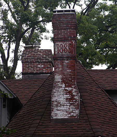 Crowning chimney