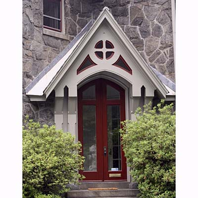 Carpenter Gothic gable