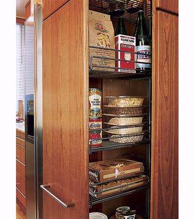 storage solutions efficient galley kitchens this old house On galley kitchen storage