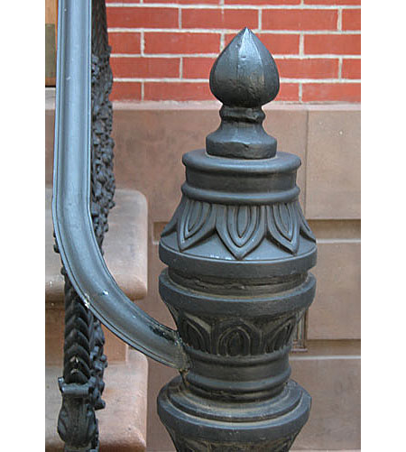 Rust Prevention in ironwork.