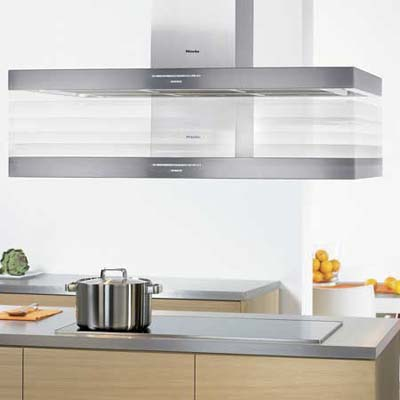 Miele height-adjustable vent hood