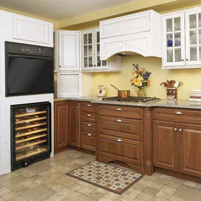 looking for new cabinets we found our dream kitchen on