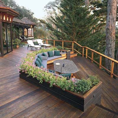 deck, multilevel