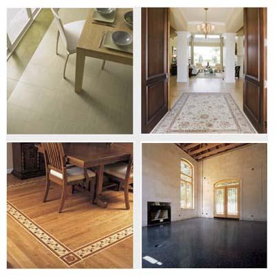 vinyl tile flooring, wood floor, terrazzo, marble floor