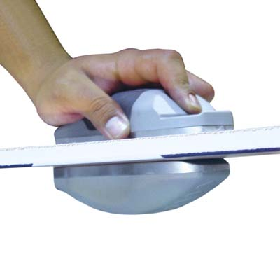 magnetic tool from Goldblatt that scores drywall from both sides