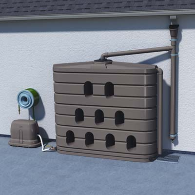 the Bushman rainwater collector