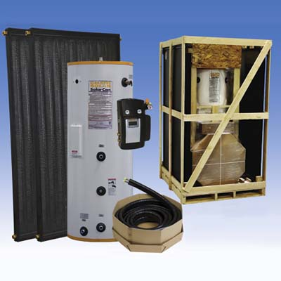 the solar thermal kit from Caleffi
