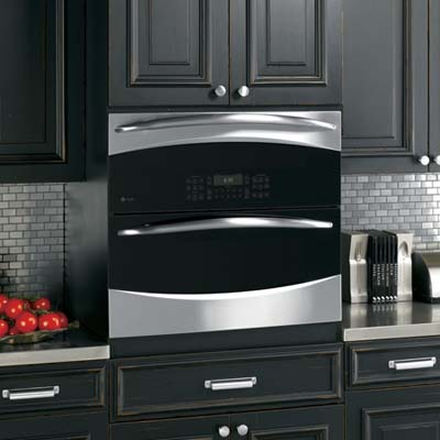 the Profile, a single-double wall oven made by GE