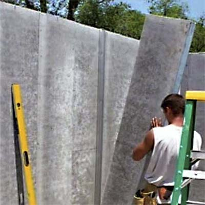 Protec concrete clad sip cool innovations from the for Best sip panels