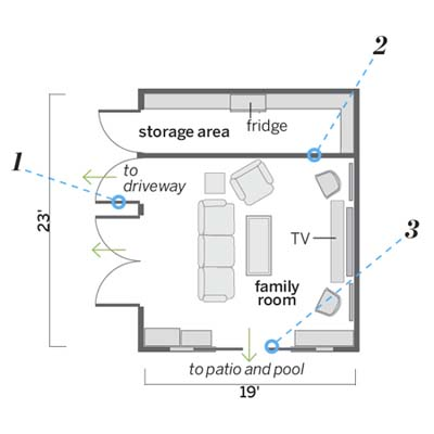 Garage Conversion Floor Plans Free