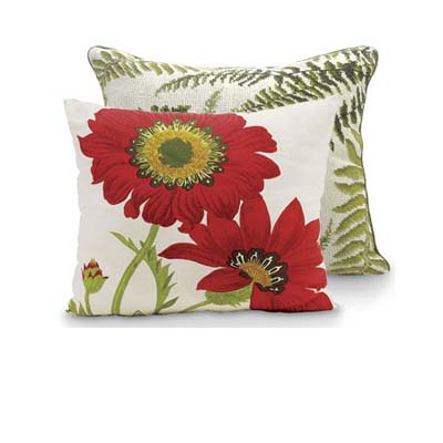 Plant-Themed Pillows