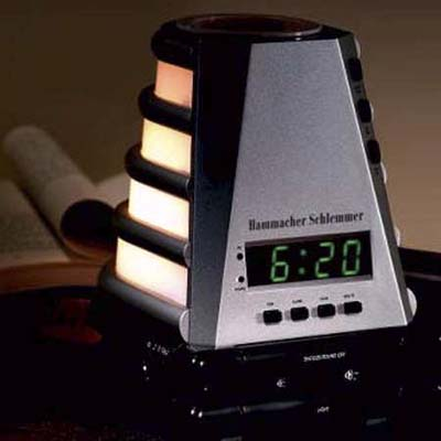 wake up peacefully clock