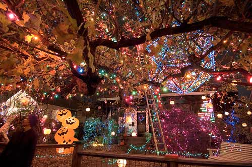 over the top holiday lights and decorations christmas