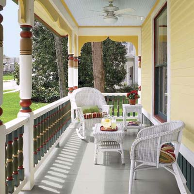 The Front Porch of the House