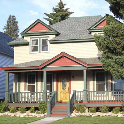 house after remodel