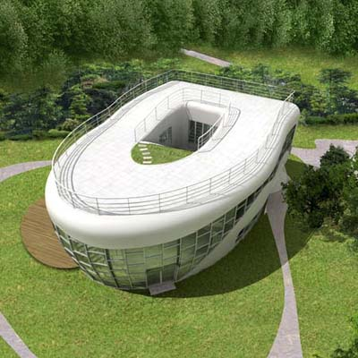 toilet shaped house in South Korea