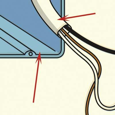 nonmetallic cable