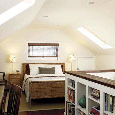 An Attic Master Bedroom | From Attic to Bedroom, with Help from