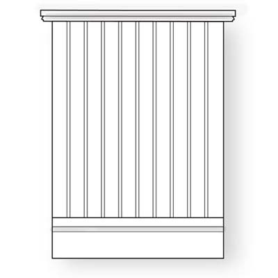 beadboard wainscoting