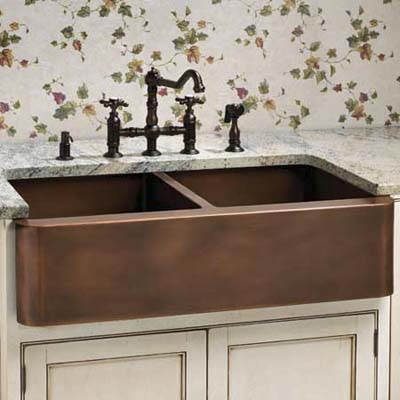copper sink from signature hardware