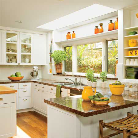 Simple Kitchen Designs Amusing With Simple White Kitchen Design Images