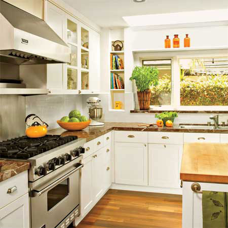 Looking Ahead Simple Kitchen Design Timeless Style