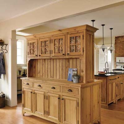 double sided hutch