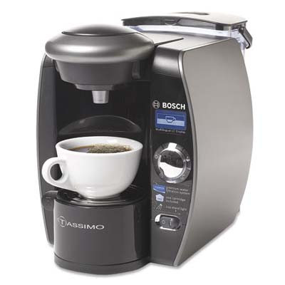 bosch beverage system with freshly brewed coffee
