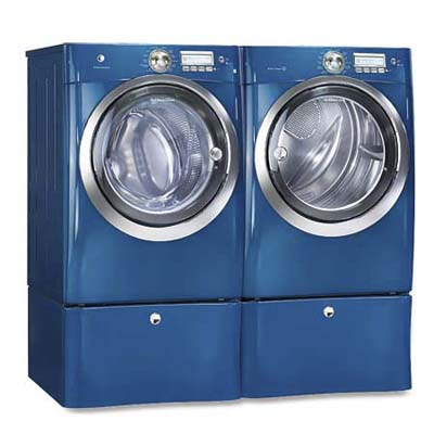 high-speed electrolux washer and dryer side by side