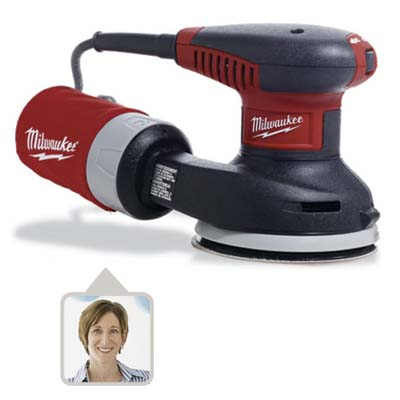 milwaukee random-orbit sander