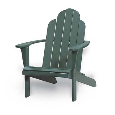 basic model of adirondack chairs