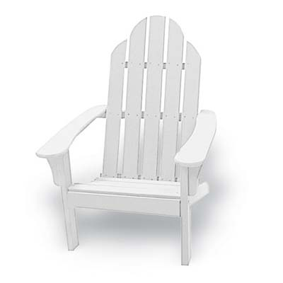 mid-range model of adirondack chairs