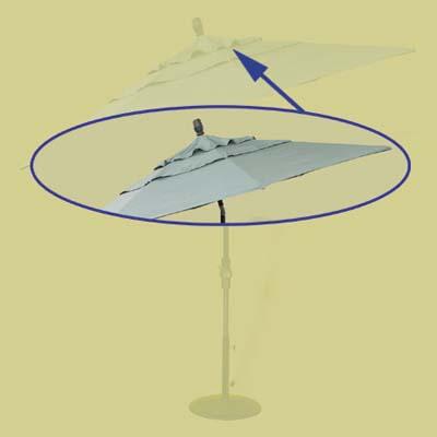 high-end umbrella canopy
