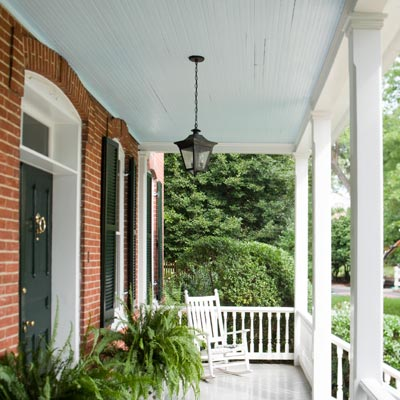 would a blue ceiling really deter wasps from building nests on the porch