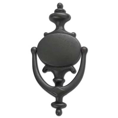colonial-style bronze door knocker from restoration hardware